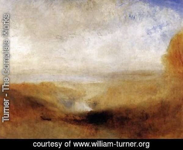 Turner - Landscape with a River and a Bay in the Background 1835-40
