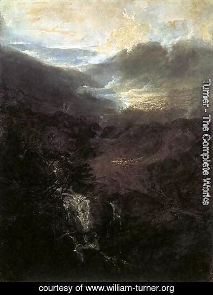 Turner - Morning amongst the Coniston Fells 1798