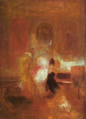 Turner - Music Party 1835
