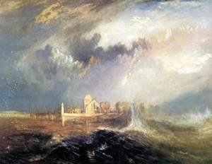 Turner - Quillebeuf, at the Mouth of Seine 1833