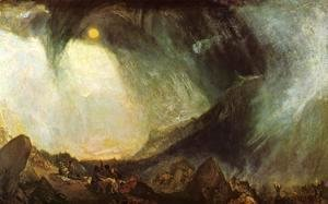 Turner - Snow Storm, Hannibal and his Army Crossing the Alps 1812