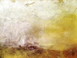 Turner - Sunrise with Sea Monsters 1845