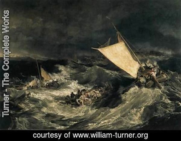 Turner - The Shipwreck c. 1805