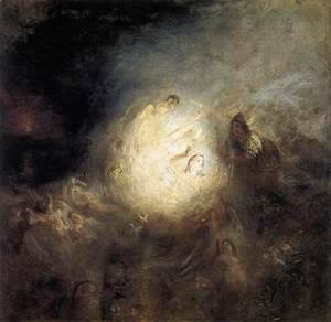 Turner - Undine Giving the Ring to Massaniello, Fisherman of Naples 1846