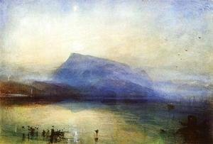 The Blue Rigi: Lake of Lucerne - Sunrise