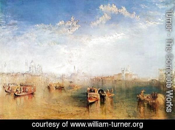 Turner - Giudecca, la Donna della Salute and San Georgio (or The Guidecca from the Canale di Fusina)