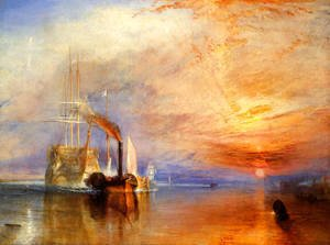 Perfect Turner   The Fighting U0027Téméraireu0027 Tugged To Her Last Berth To Be Broken Up