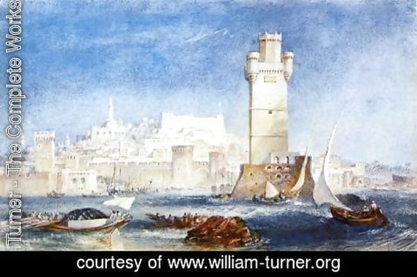 "Turner - Rhodes (for ""Lord Byron's Works"")"