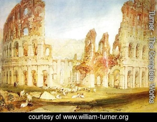 Turner - Rome: The Colosseum