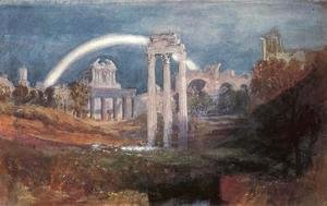 Turner - Rome: The Forum with a Rainbow