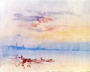 Turner - Venice, Looking East from the Guidecca: Sunrise