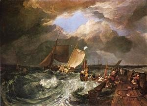 Turner - Calais Pier, with French Poissards Preparing for Sea: an English Packeet Arriving
