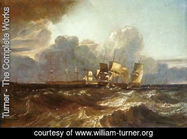 Turner - Ships Bearing Up for Anchorage (or The Egremont sea Piece)