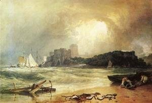 Turner - Pembroke Caselt, South Wales: Thunder Storm Approaching
