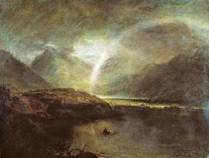 Turner - Buttermere Lake: A Shower