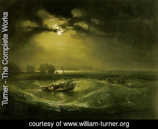 Turner - Fishermen at Sea (or The Cholmeley Sea Piece)