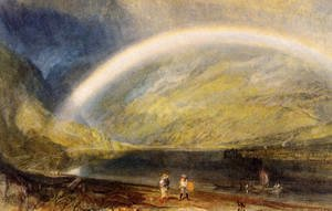 Turner - Rainbow (or A View on the Rhine from Dunkholder Vineyard, of Osterspey and Feltzen below Bosnart)