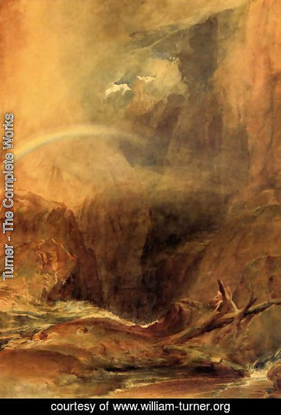 Turner - The Devil's Bridge, St. Gothard