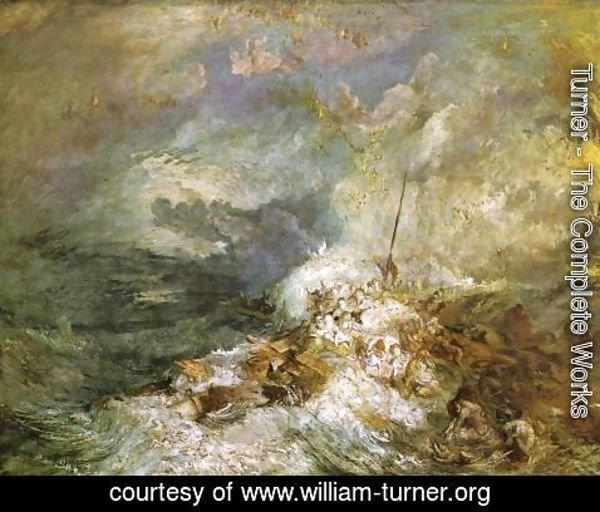 Turner - Fire at Sea