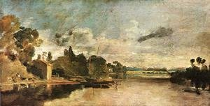 Turner - The Thames near Walton Bridges