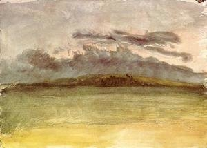 Turner - Storm-Clouds: Sunset