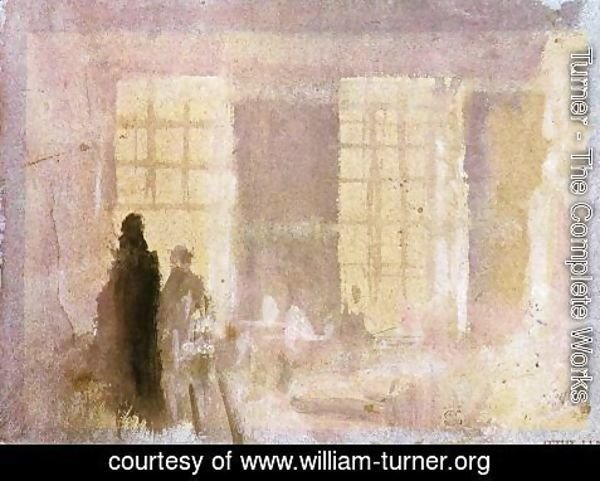 Turner - Interior at Petworth