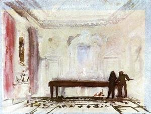 Turner - Playing Billiards, Petworth