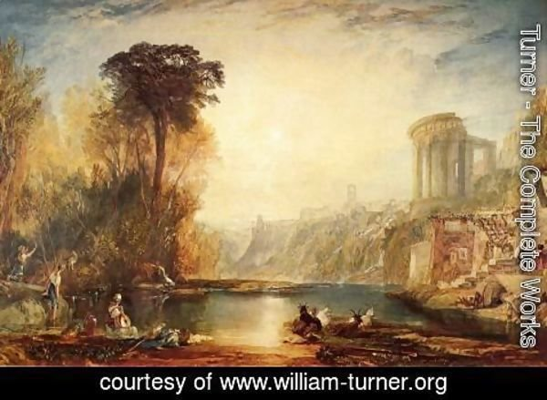 Turner - Landscape: Composition of Tivoli