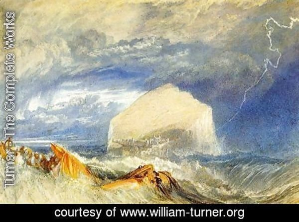 "Turner - The Bass Rock (for ""The Provincial Antiquitiies of Scotland"")"