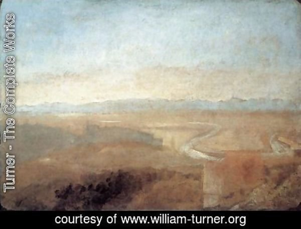 Turner - Hill Town on the Edge of the Campagna
