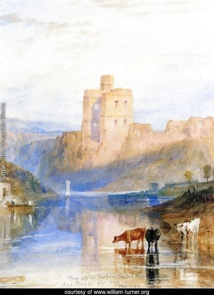 Norham Castle on the Tweed
