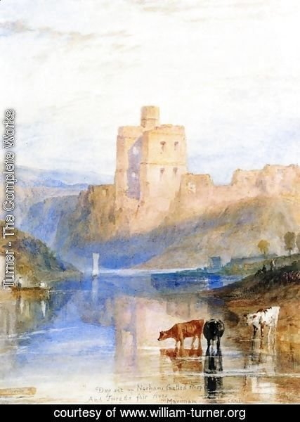Turner - Norham Castle on the Tweed