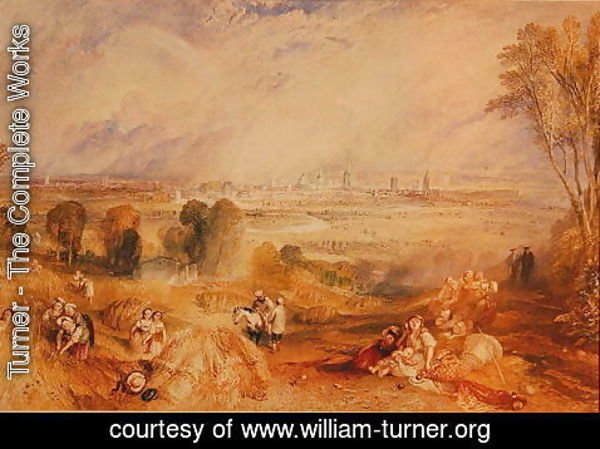 Turner - Oxford from North Hinksey