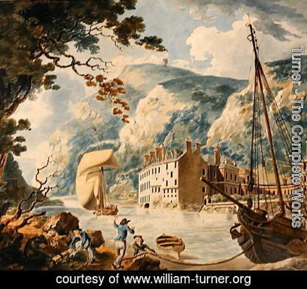 Turner - Avon Gorge and Bristol Hotwell