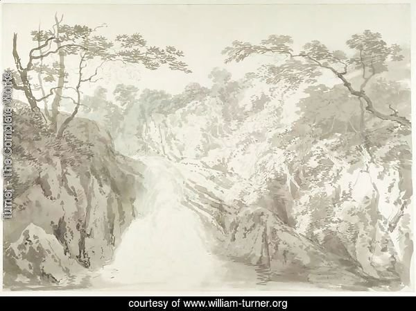 Landscape with Waterfall, c.1796