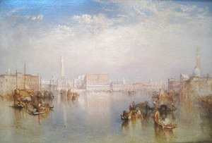 Turner - View of Venice: The Ducal Palace, Dogana and Part of San Giorgio, 1841