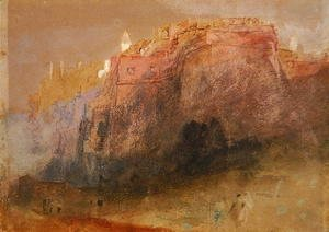 Turner - Luxembourg, c.1825