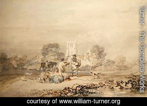 Turner - Autumn Sowing of the Grain, c.1794