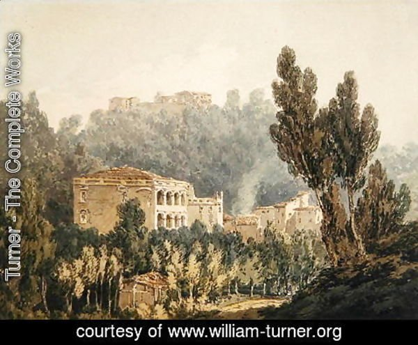 Turner - In the Valley near Vietri, c.179