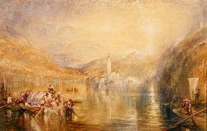 Turner - Kussnacht, Lake of Lucerne, Switzerland, 1843