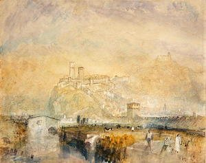 Turner - Bellinzona no. 11, Switzerland, c.1843