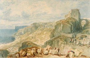 Turner - Bow and Arrow Castle, Isle of Portland