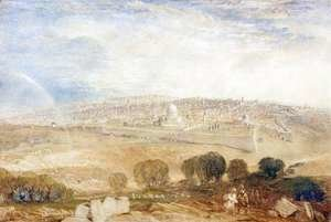 Turner - Jerusalem from the Mount of Olives, c.1835