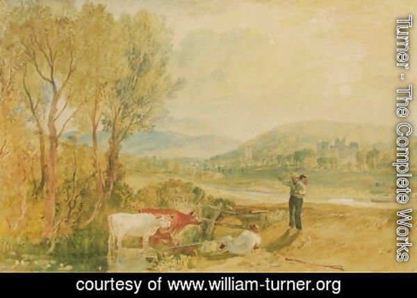 Turner - Lulworth Castle, Dorset, c.1820