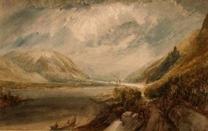 Turner - Junction of the Rhine and the Lahn