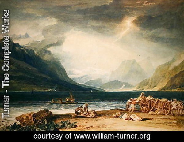 Turner - Lake Thun