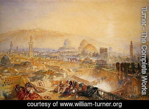 Turner - Jerusalem from the Latin Convent