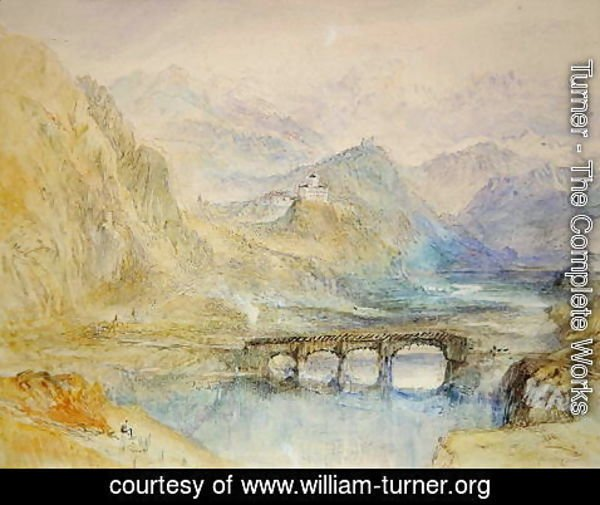 Turner - The Domleschg Valley
