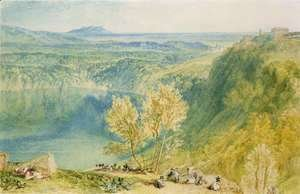 Turner - Lake Nemi