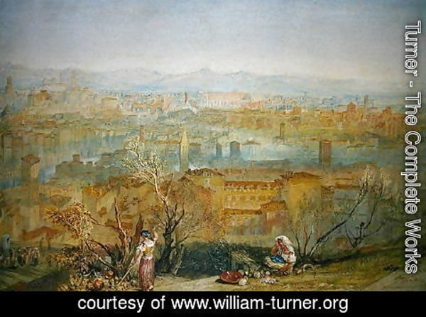 Turner - Rome from San Pietro